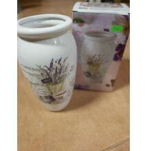 Levendulás váza