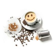 Kávéhab díszítő szett