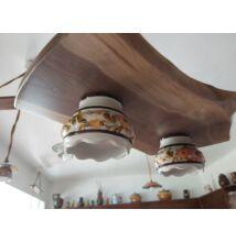 natúr  vintage lámpa