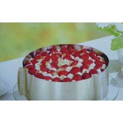 Kerek állítható tortaforma