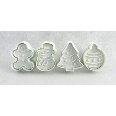 Karácsonyi sütikiszúró müanyag